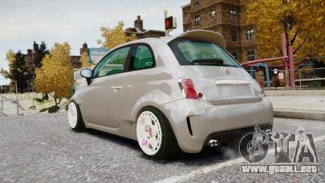 Fiat 500RB para GTA 4 left
