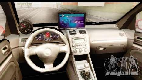 Volkswagen Golf GTI para visión interna GTA San Andreas