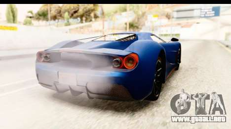 GTA 5 Vapid FMJ SA Style para GTA San Andreas left