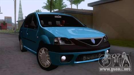 Dacia Logan Prestige 1.6L 16V para la visión correcta GTA San Andreas