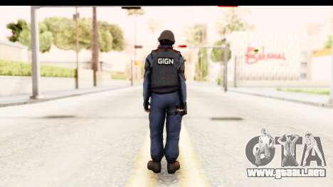 CS:GO - GIGN para GTA San Andreas tercera pantalla