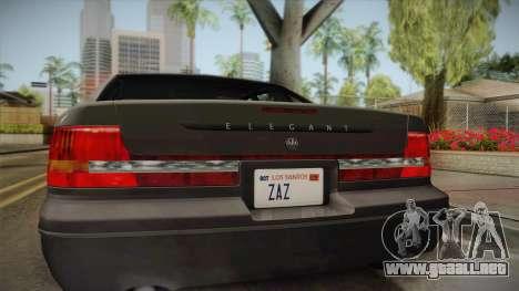 Willard Elegant SA Style para la visión correcta GTA San Andreas