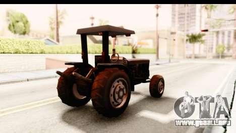 Modern Tractor para la visión correcta GTA San Andreas