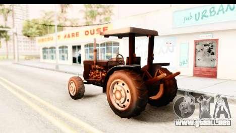 Modern Tractor para GTA San Andreas left