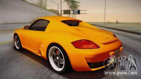 Ruf RK Coupe (987) 2007 IVF para GTA San Andreas left