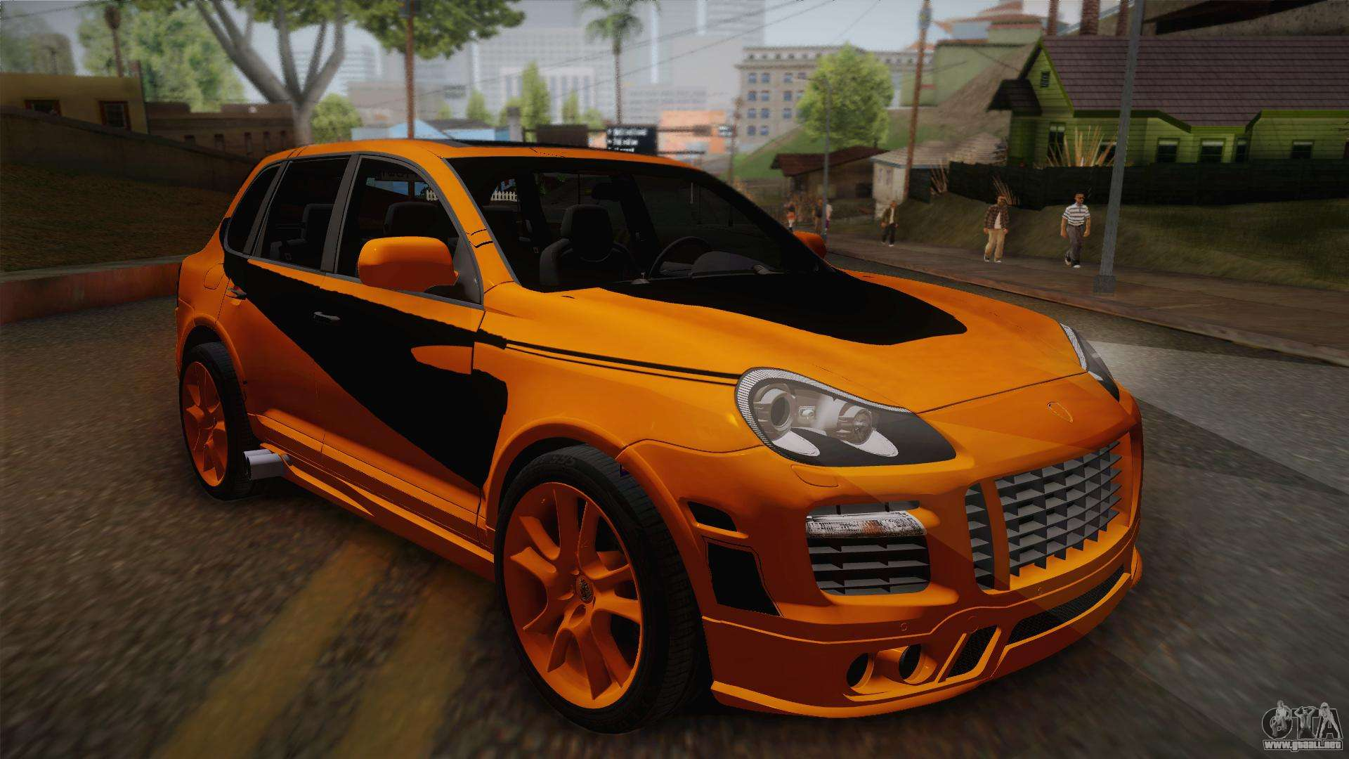 porsche cayenne 2007 tuning para gta san andreas. Black Bedroom Furniture Sets. Home Design Ideas