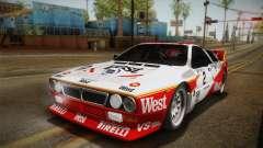 Lancia Rally 037 Stradale (SE037) 1982 IVF Dirt3 para GTA San Andreas