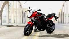 Honda CBR650F para GTA San Andreas