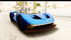 GTA 5 Vapid FMJ SA Style para GTA San Andreas