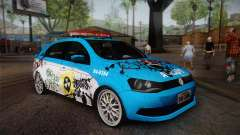 Volkswagen Voyage G6 Pmerj Graffiti para GTA San Andreas