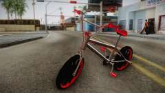 Dark Red BMX para GTA San Andreas