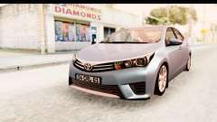 Toyota Corolla 2014 IVF para GTA San Andreas