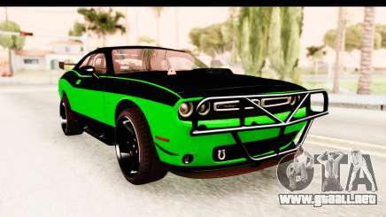 Dodge Challenger F&F 7 para GTA San Andreas