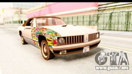 Stallion Sticker Bomb para GTA San Andreas