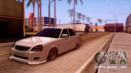 Lada Priora Autozvuk v.2 para GTA San Andreas