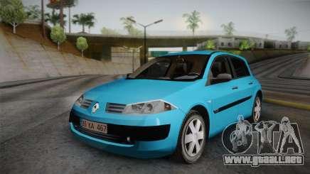 Renault Megane 2 Hatchback v2 para GTA San Andreas