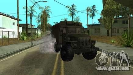 Ural 4320 Armenian para GTA San Andreas