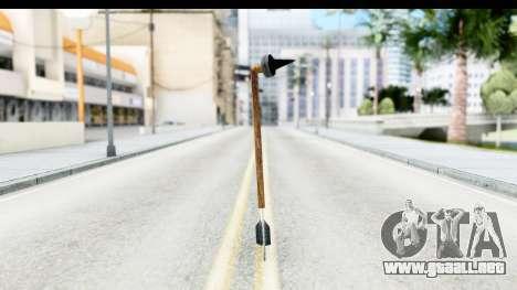 Star Wars Tusken Gaderffii para GTA San Andreas segunda pantalla