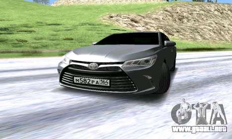 Toyota Camry para GTA San Andreas left