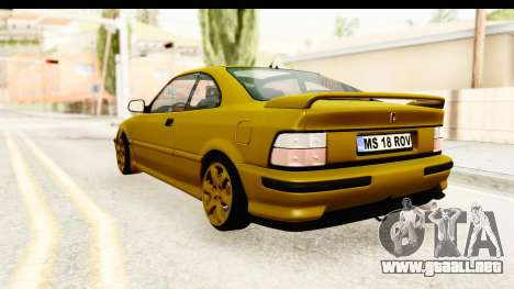 Rover 220 Gold Edition para GTA San Andreas left