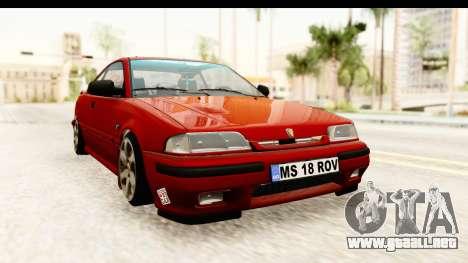 Rover 220 Kent 2 para la visión correcta GTA San Andreas