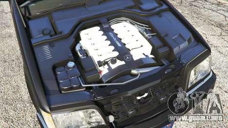 Mercedes-Benz W140 AMG [replace] para GTA 5