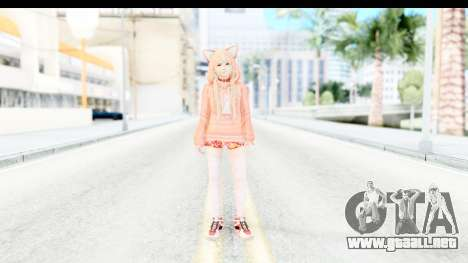 Marie Rose Newcomer Orange para GTA San Andreas