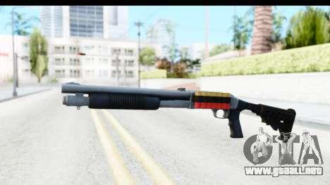 Tactical Mossberg 590A1 Chrome v2 para GTA San Andreas