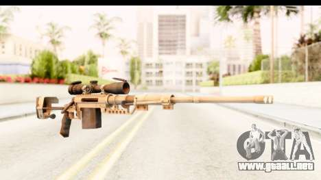 Cheytac M200 Intervention Tan para GTA San Andreas