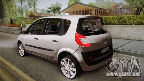 Renault Scenic II para GTA San Andreas left