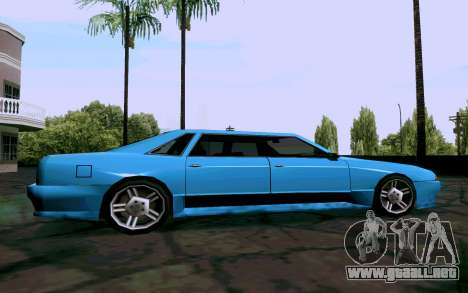 Elegy Sedan para GTA San Andreas left