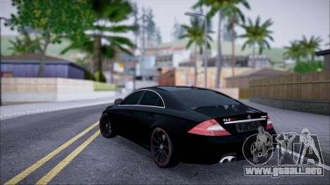 Mercedes-Benz Cls 630 para GTA San Andreas left