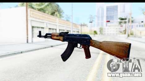 Kalashnikov AKM para GTA San Andreas segunda pantalla