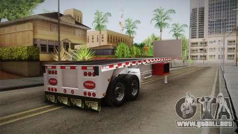 Trailer Americanos v1 para GTA San Andreas left