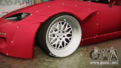 Mazda MX-5 2016 Hachiraito para GTA San Andreas vista hacia atrás