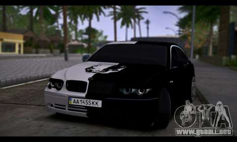 BMW 750i Smotra Kiev para GTA San Andreas
