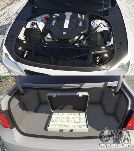 BMW 760Li (F02) Lumma CLR 750 [add-on] para GTA 5