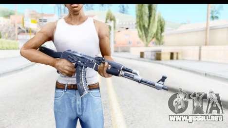 AK-47 Elite Build para GTA San Andreas tercera pantalla