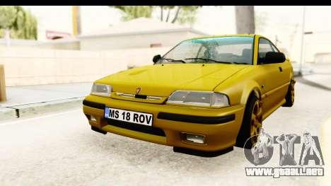 Rover 220 Gold Edition para GTA San Andreas vista posterior izquierda