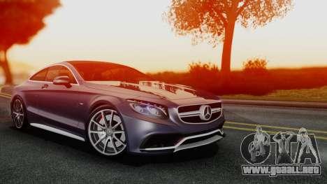 Mercedes-Benz S-Class Coupe AMG para GTA San Andreas