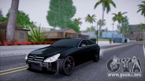 Mercedes-Benz Cls 630 para visión interna GTA San Andreas