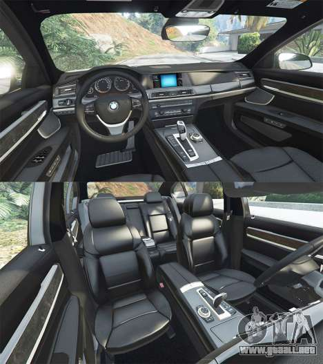 GTA 5 BMW 760Li (F02) Lumma CLR 750 [add-on] delantero derecho vista lateral