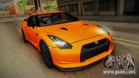 Nissan GT-R R35 para GTA San Andreas