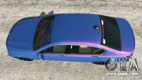 GTA 5 BMW 750i xDrive M Sport (G11) [add-on] vista trasera
