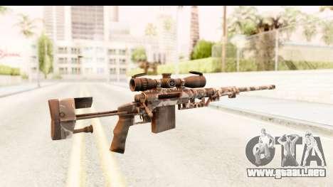 Cheytac M200 Intervention Skull para GTA San Andreas segunda pantalla