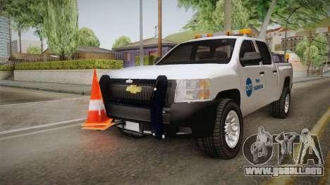 Chevrolet Silverado 2009 SA DOT para la visión correcta GTA San Andreas