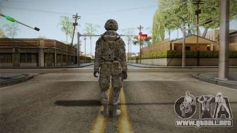 Multicam US Army 4 v2 para GTA San Andreas tercera pantalla