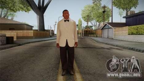 GTA 5 Franklin Tuxedo v1 para GTA San Andreas segunda pantalla
