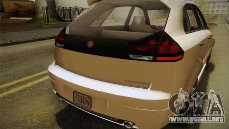 GTA 5 Emperor Habanero IVF para la vista superior GTA San Andreas