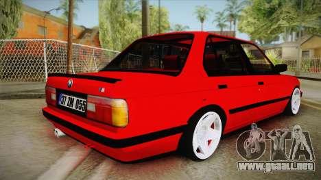 BMW M3 E30 Sedan para GTA San Andreas left